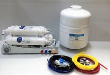 Compact Portable Reverse Osmosis Water Filter System 50 GPD Countertop
