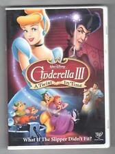 Cinderella III: A Twist in Time (DVD, 2007) Disney