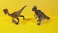 Papo 2 PACHYCEPHALOSAURUS Stegoceras & OVIRAPTOR Dinosaur Prehistoric LAST ONE