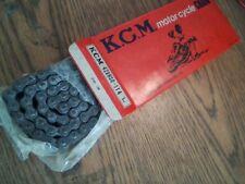 KCM KAGA RK 428-HSO-114 LINKS O-RING MOTORCYCLE CHAIN + CONNECTOR KAWASAKI HONDA