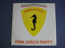 """Marco Polo - Pink Disco Party - ITALY 12"""" Vinyl UNKNOWN samples Pink Floyd"""