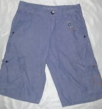 Coogi Boys Size 14 Light Blue Cargo Shorts