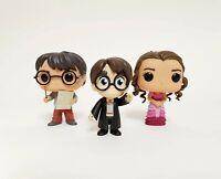 3 x Bundle Funko Pop Vinyl - Harry Potter #42 Hermione Granger #11 Misc Harry #?