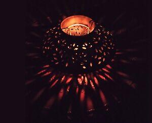 Candle Holder Iron Tea Light Holder Party Wedding Christmas Ornament Decor Art