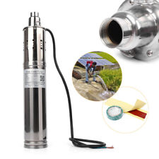 Solar Powered Water Pump Submersible Bore Hole Deep Well DC 24V 864W 3m³/H 120m