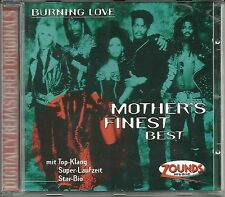 Mother's Finest Burning Love (Best of) Zounds CD