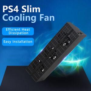 Super Cooling Fan with 3 Fans - Turbo Cooler For PS4 Slim PlayStation 4 Slim