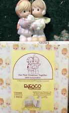 Precious Moments Enesco Our First Christmas Together 2000 Ornament