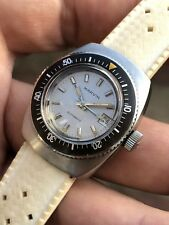 Cool Swiss Made Vintage Ladies Marvin Automatic Steel Diver Watch 26,8mm