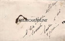 ANCONA: fotocartolina privata di Laura che a 8 giorni saluta zia Elena  1912
