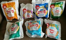 McDonald's 2001 Robo-Chi Pets Happy Meal Toys Lot of 7
