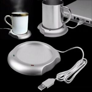 Coffee Warmer Cup Mug Coaster Tea Milk Drink Portable USB Heater Pad Plate