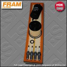 SERVICE KIT CITROEN XSARA PICASSO 1.6 16V FRAM OIL AIR FUEL FILTER PLUGS (05-10)