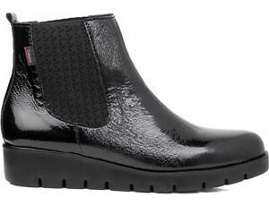 CALLAGHAN 89854 Ankle Boot Beatles Black Leather Shiny
