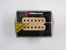 DiMarzio F-spaced Al DiMeola Bridge Humbucker Creme W/Black Poles DP 202
