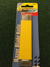 Pacific Handy Cutter knife with blade Jiffy cutter for easy cut 1 ea. Yellow pkg
