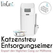 LittyCat - Katzenstreu Entsorgungseimer - geruchsdichtes System