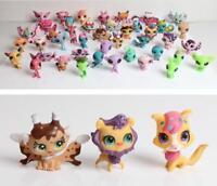 LPS Original 20 pcs Littlest Pet Shop Lot Girl RARE Loose Figures Child Toy Gift