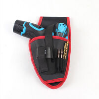 Drill Holder Holster Pouch Cordless Tools Oxford Drill Waist Belt Bag PDH W hy