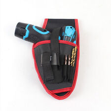 Drill Holder Holster Pouch Cordless Tools Oxford Drill Waist Belt Bag