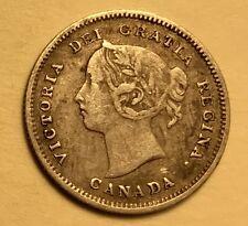 Canada - Queen Victoria - 5 Cents - 1891 - Very Fine - #3