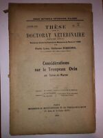 Thèse - Considerations sur le troupeau Ovin en Seine-et-Marne - 1928