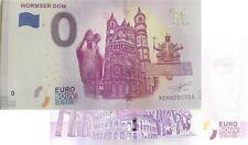 Wormser Dom 2019-1 Null Souvenirschein|€ 0 Euro Schein Billet