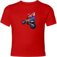 Nintendo Mario Kart Motorcycle Mario Unisex Men Women Racing Video Game T-Shirt