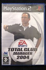 PS2 : TOTAL CLUB MANAGER 2004 - Nuovo, risigillato! Realismo e controllo totale!