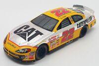 Racing Champions 1/24 Scale 76201 - Stock Car Dodge #22 W.Burton Nascar - Orange