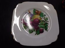 Clarence Bone China - Square Plate - Made in England