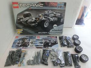 ( GO ) Lego Technic 8458 Silver Champion Mit OVP & BA INLAY Komplett TOP ZUSTAND