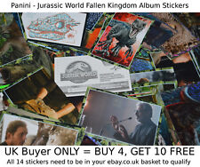 Panini Jurassic World Fallen Kingdom 2018 -{select your}- Album Stickers singles