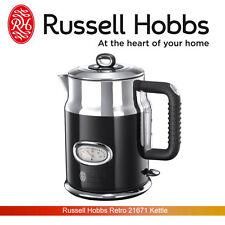 Russell Hobbs 21671 Retro Vintage 1.7 litres 3000 W Black Kettle