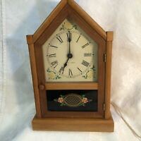 Vintage Seth Thomas Sharon-Echo S Steeple Electric Mantle Clock Non-Working
