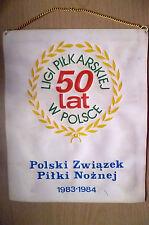 Pennant-LIGI pilkarskiej 50 LAT W polsce ~ SOCCER LEAGUE 50 anni in Polonia