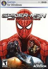 BRAND NEW SEALED PC SPIDERMAN Game -- Spider-Man: Web of Shadows (PC DVD, 2008)