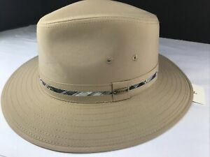 NEW STETSON STC3 Khaki  Hat LARGE New With Tags