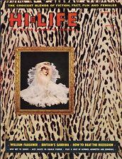 Vintage Hi Life Magazine November 1958 Nov VF+ 8.5 UNREAD See my store