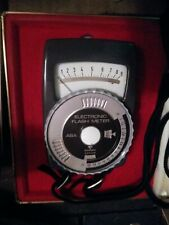 Vintage GOSSEN ASCOR ELECTRONIC FLASH METER *Made in Germany*