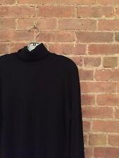 CORNELIANI COLLECTION Men's Turtle Neck Sweater Sz 56 IT XXL WooL Cashmere Black