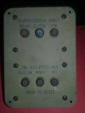 Aviation Aircraft Panel  Klixon Circuit Breaker 6ea Vintage