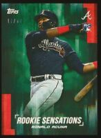 2018 Topps On Demand ROOKIE SENSATIONS Green parallel #/50 (you pick)