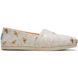 Toms Classic Espadrilles Womens Ladies Vegan Bees Pumps Shoes Size 4-8