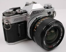 Canon AE-1 Film Camera w/ Canon 24mm f/2.8 S.S.C Lens