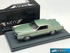 Cadillac Eldorado Coupe green 1967  NEO44105  1:43