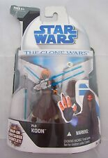 Star Wars The Clone Wars PLO KOON Complete Action Figure MOC Still Sealed 2008