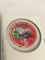 1997 HOT AUGUST NiGHTS RENO,NV. HARRAH'S CASINO $5.00  1957 CHEV. NOMAD