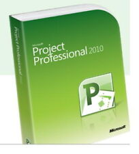 Microsoft Project Professional 2010 64-bit (Spanish) - NEW Key