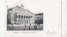 BF19458 theatre royal de la monnale  bruxelles belgium front/back image